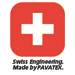 Swiss Engineered. Made by PAVATEX.